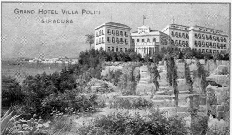Villa politi palazzi di pregio for Hotel panorama siracusa
