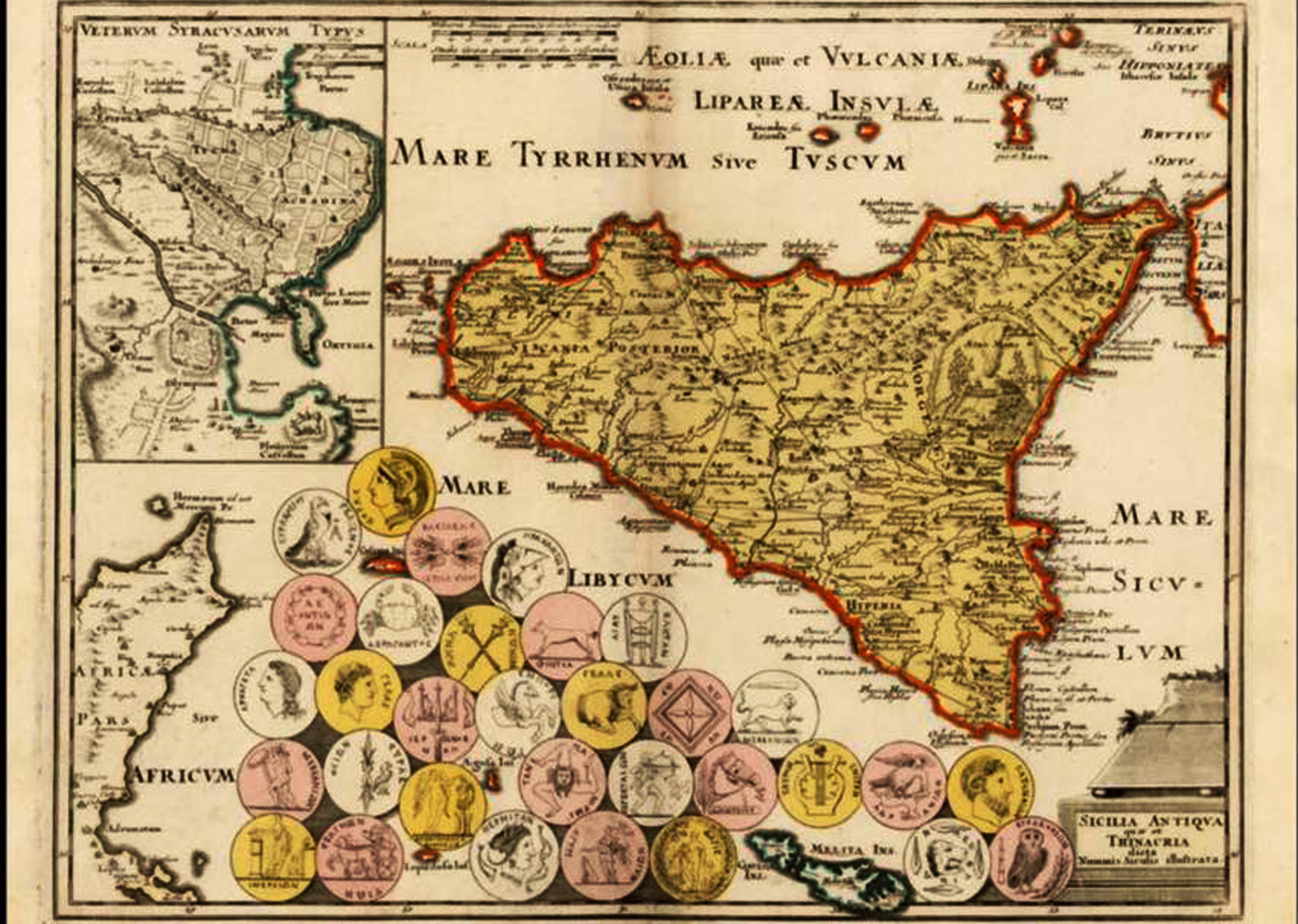 Cartina Sicilia Grande.Sicilia Mappe Sicilia