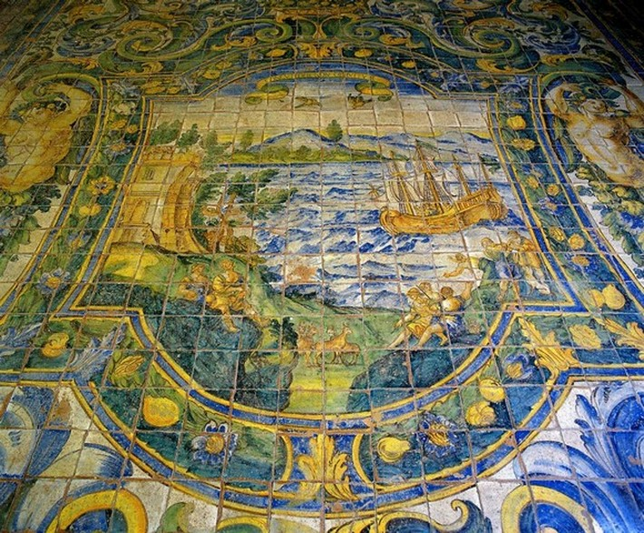 Arte ceramica sicilia - Piastrelle siciliane antiche ...