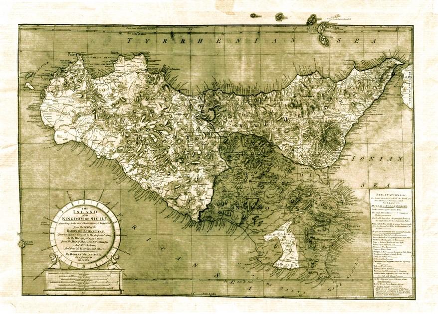 Sicilia mappa 1757 sicilia clicca per vedere la mappa ingrandita altavistaventures Images